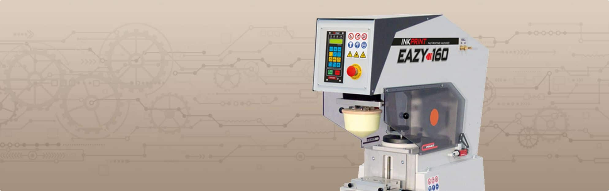 The EAZY 160 Pad Printing Machine