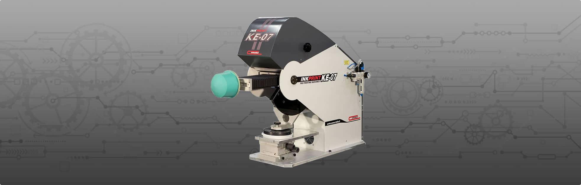 KE07 Pad Printing Machine