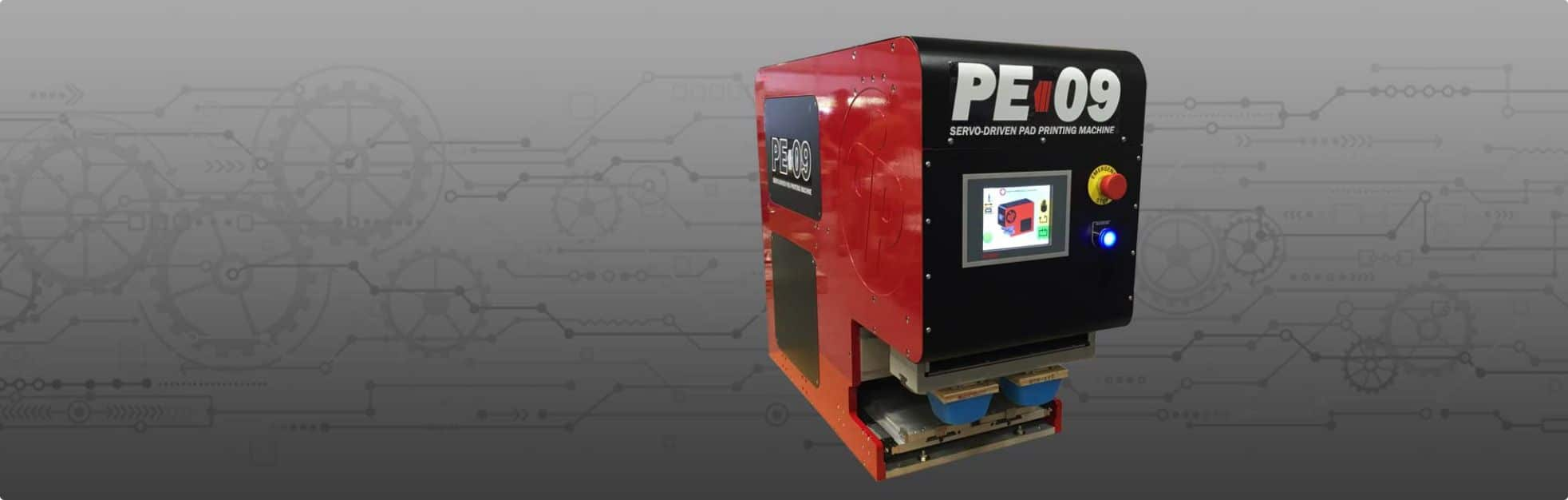 PE09 Pad Printing Machine
