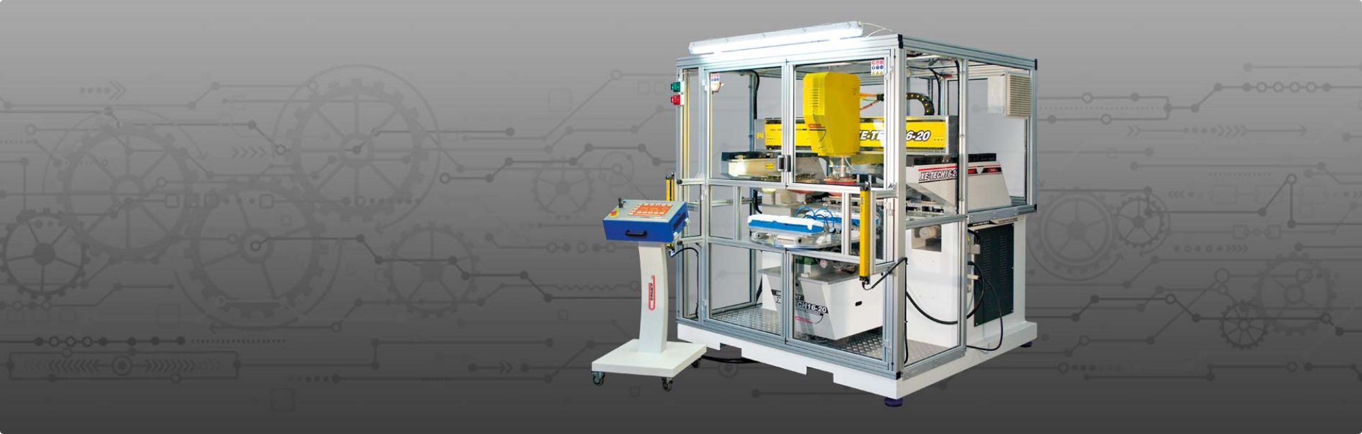 XETech 16-20 Pad Printing Machine