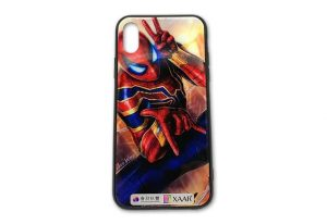 Cell phone cover printed on a uv led curable flatbed inkjet printer.