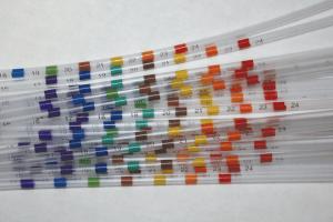 pad-printed medical catheters